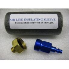Extended Run Air Line  Connector & water line Blow Out Tool